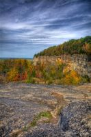 Fall Escarpment II by JohnMeyer