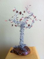 small silver wire tree by etodorut
