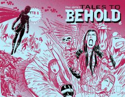 Possible Tales To Behold 8 Cover by TheCosmicBeholder