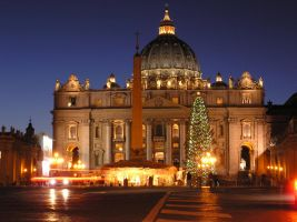 Vatican Lights by OneClownShoe