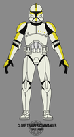 Clone Trooper Commander - Phase I Armor by BCMatsuyama