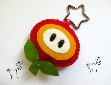 Super Mario Fire Flower by MissMarston