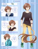 :OC ref: Camire by MMtheMayo