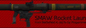 SMAW Rocket Launcher (Static) by ProgammerNetwork