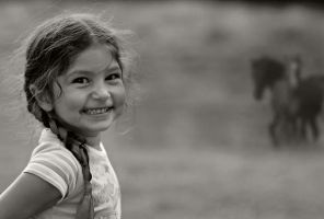 little gipsy girl by konczy