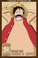 EPP - Whiskey Peak: Luffy by SergiART