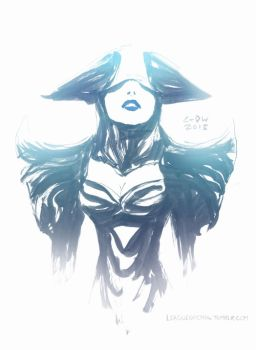 Lissandra, the Ice Witch (June 16th, 2013) by Alex-Chow