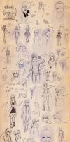Large sketchdump 2012 by Ritusss