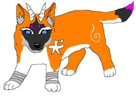 Adoptable dog 1 point SOLD by NekoHime07