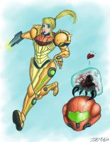 Samus Commission by thehotmageaeris