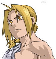 +Edward Elric+ by FoxDemon12