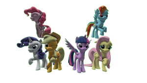 The Mane 6 by FD-Daylight