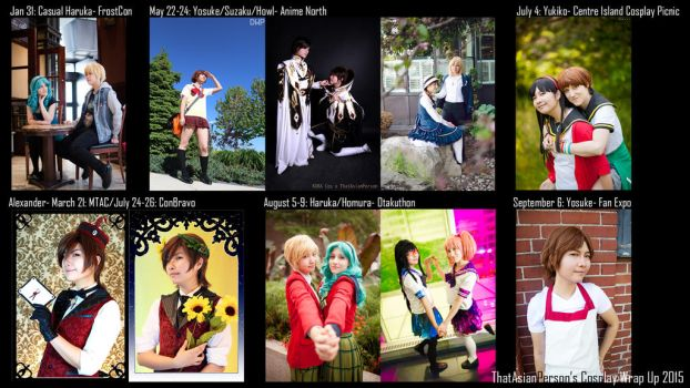 Happy New Year! 2015 Cosplay Round Up -Wallpaper- by thatasianperson