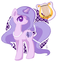 POP! Commission Lavender Lovesong by Exceru-Hensggott
