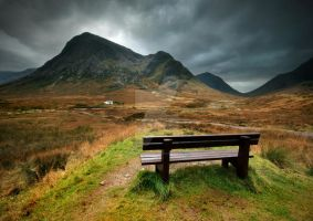 A view from a Bench by ArwensGrace