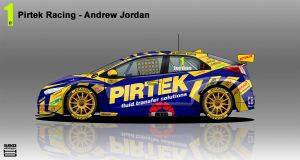 Pirtek Racing Honda Civic BTCC 2014 by hanmer
