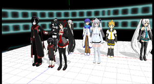 MMD ARMY by MMDGLaDOS