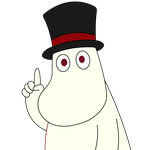 Moominpappa has a point by kol98