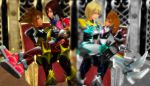 The Keyblade Knights - Intimate Couples by rev-rizeup