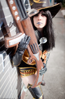 Caitlyn Cosplay: Welcome to summoners rift. by MomoeHamaguchi
