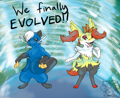 We finally evolved!(updated) by tigersylveon