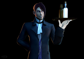 That butler by This-Is-Singy