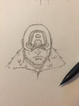 Captain America by NathanWest36