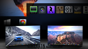 Win10 Theme for RocketDock by limera1n
