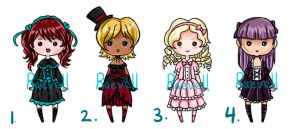 Gothic Lolita Adopts [Open] Offer Anything by Raevell