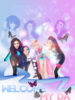 Under Me +ID PSD+Little Mix by AwkwardFantasy