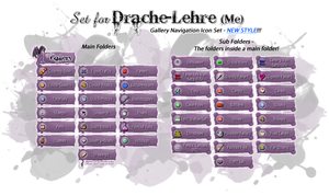 My Gallery Icon Set - *NEW* STYLE! by Drache-Lehre