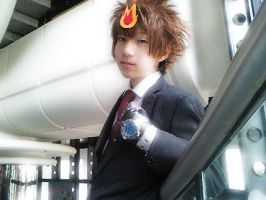 Me in Tsuna :D by DameTsuna