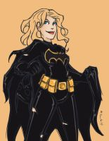 Batgirl: Steph as Cass by msciuto