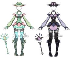 Fairy outfit batch Closed by AS-Adoptables