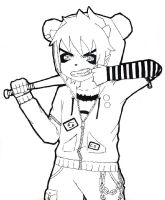 panda hero karkat - colorless by tamakuro
