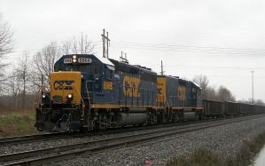 CSX 6968 by LDLAWRENCE