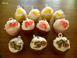 Cupcake Set by MusicRains
