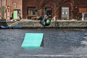 Cable Park Rider by BrknRib