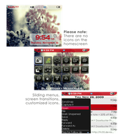 Winter flowers - BB 8520 theme by awesomegirl