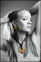 Yellow jewelry by Behindmyblueeyes