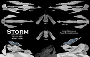 Eve Starship Contest - Storm by Mirarz-realm