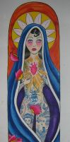 Hail Mary, full of ink... by violet-grimm