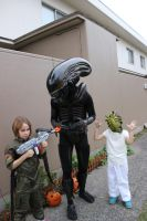 The whole Group (Alien Cosplay Halloween 2014) by thirtythr33degrees