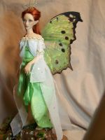 'Theia' Luna Moth Fairy 3 by AmandaKathryn