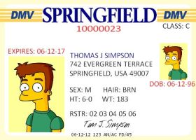 Tom's Drivers License by TomSimpson96