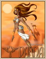 Egyptian Darna by blue-fusion