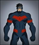 Nightwing - Batman Unlimited - Animal Instincts by DraganD