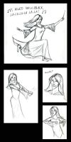 Bella's Victory Dance by girlwithquill