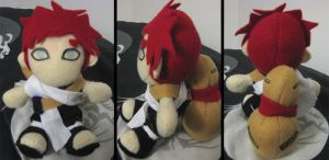 Gaara Plushie - Finished :D by Nadzorz
