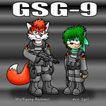 Two GSG-9 Operators by RyanEchidnaSEAL